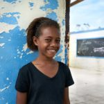 Lili is testament to the strength of women and girls in the Pacific. Despite losing her home and classroom to TC Winston, she still shows gratitude and thinks positively about the future.