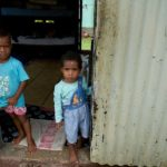 Safe drinking water means children can stay healthy.