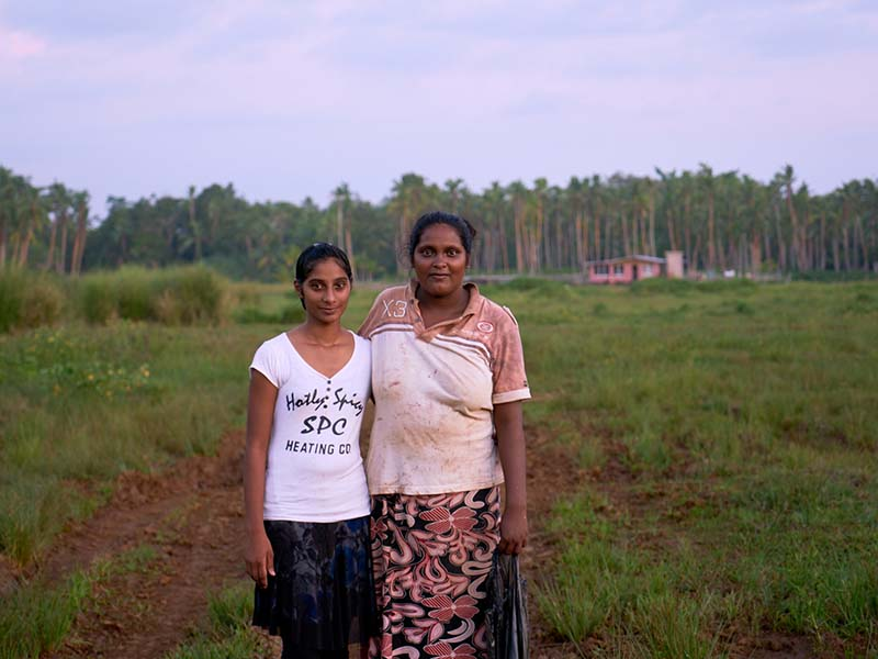 Shewta and aunty Reshmi can now enjoy the benefits of having access to sage drinking water from their rural paradise in Bua.